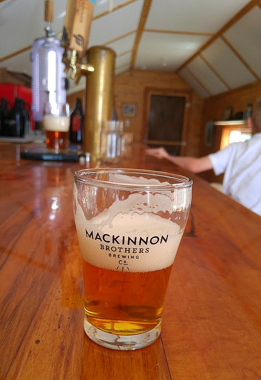 MacKinnon-Brothers-Brewery-Sampling-Everything-Mom-and-Baby